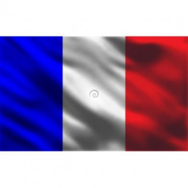Fototapeta na stenu - FT4544 - Francúzska vlajka