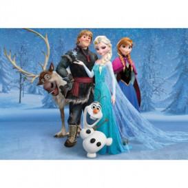 Fototapeta na stenu - FT2074 - Ľadové kráľovstvo Elsa a Olaf