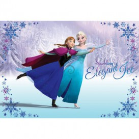 Fototapeta na stenu - FT2077 - Ľadové kráľovstvo Elsa a Anna II
