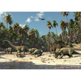 Fototapeta na zeď - FT0177 - Dinosauři