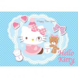 Fototapeta na stenu - FT2087 - Hello Kitty zimná