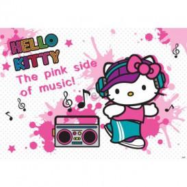 Fototapeta na stenu - FT2090 - Hello Kitty DJ