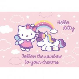Fototapeta na zeď - FT2093 - Hello Kitty jednorožec