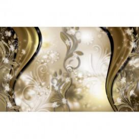 Fototapeta na stenu - FT3621 - Žltý ornament