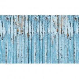 Fototapeta na stenu - FT3627 - Drevená stena – modrá