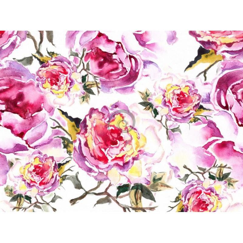 Fototapeta Na Zed Ft0192 Kreslene Kvetiny Preinterier Sk