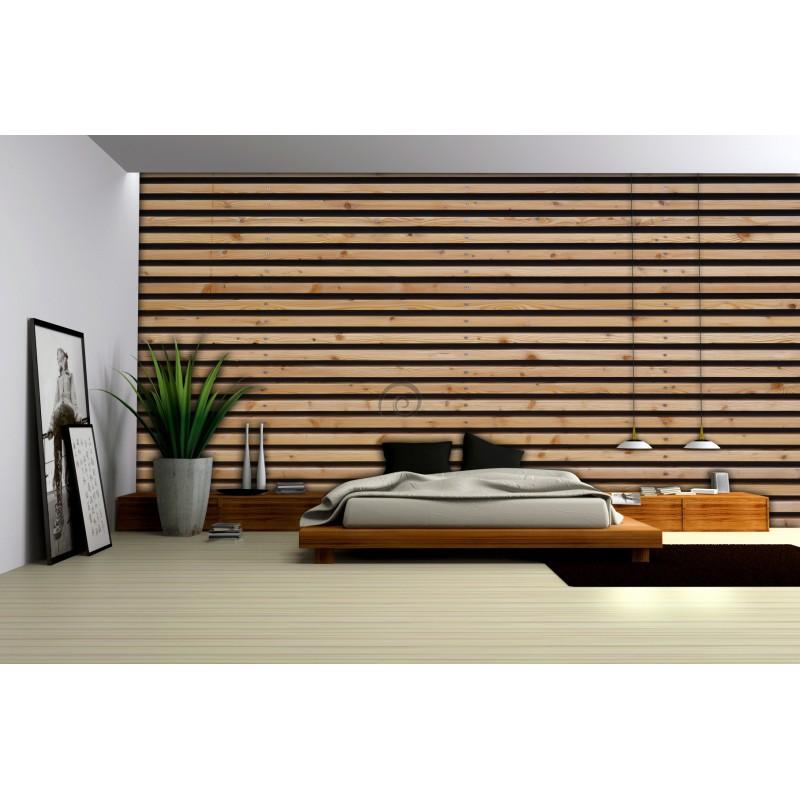 fototapeta na stenu ft3648 dreven stena iernohned. Black Bedroom Furniture Sets. Home Design Ideas