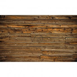 Fototapeta na stenu - FT3651 - Drevená stena – tmavohnedá