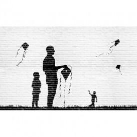 Fototapeta na stenu - FT3267 - Púšťanie šarkanov