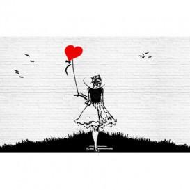 Fototapeta na stenu - FT3268 - Dievča s balónom