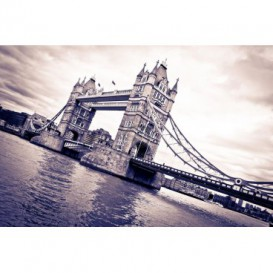 Fototapeta na stenu - FT0313 - Fialový Thower Bridge