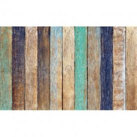 Fototapeta na stenu - FT4607 - Drevené dosky - farebné
