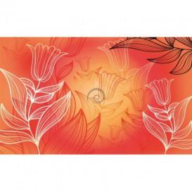 Fototapeta na stenu - FT0206 - Farebné kvety