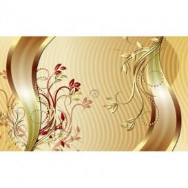 Fototapeta na zeď - FT3731 - Zlaté ornamenty