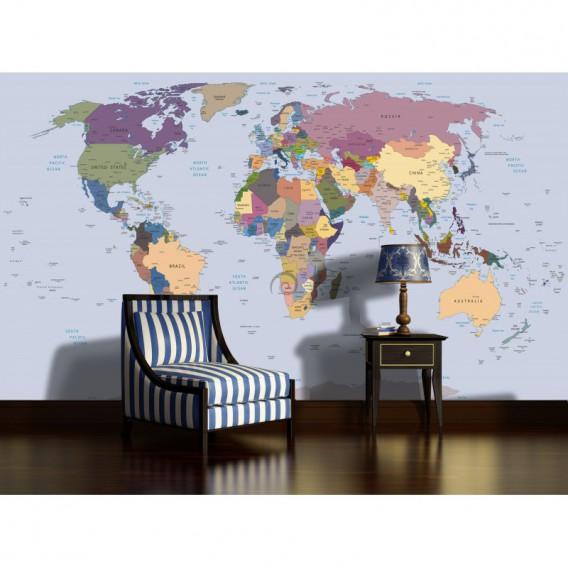 Fototapeta na stenu - FT4628 - Mapa sveta