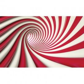 Fototapeta na stenu - FT2191 - Špirálový červený tunel