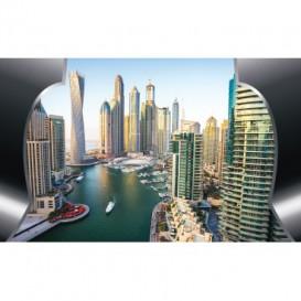 Fototapeta na stenu - FT4642 - Dubaj mrakodrapy