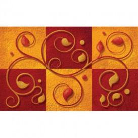 Fototapeta na stenu - FT4654 - Červenooranžový ornament