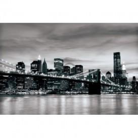 Fototapeta na stenu - FT0297 - Čiernobiely New York