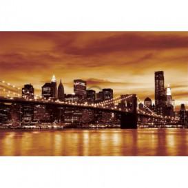 Fototapeta na stenu - FT0301 - Oranžový New York