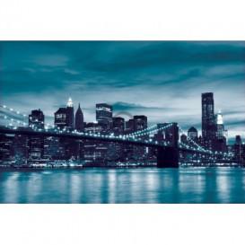 Fototapeta na stenu - FT0300 - Modrý New York