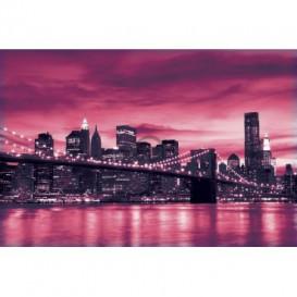 Fototapeta na stenu - FT0298 - Ružový New York
