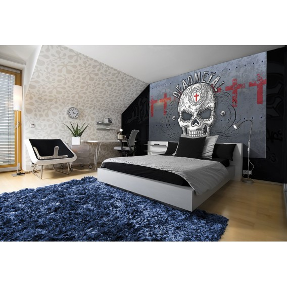 Fototapeta na stenu - FT3792 - Lebka – sivá