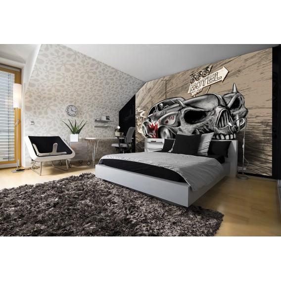 Fototapeta na stenu - FT3795 - Smrtka – auto