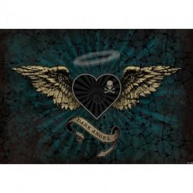Fototapeta na stenu - FT3798 - Srdce – modré