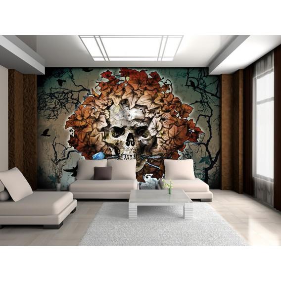 Fototapeta na stenu - FT3801 - Lebka – hnedá