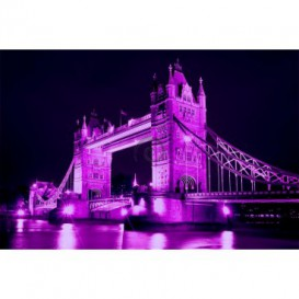 Fototapeta na stenu - FT0317 - Fialový Thower Bridge