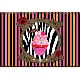 Fototapeta na stenu - FT4691 - Cupcake - farebný