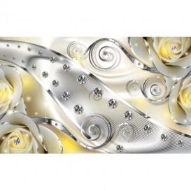 Fototapeta na stenu - FT3144 - Žlté ruže