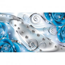 Fototapeta na stenu - FT3147 - Modré ruže