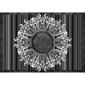 Fototapeta na stenu - FT3452 - Čiernobiely ornament