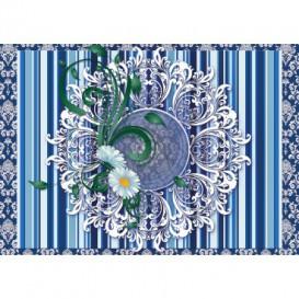 Fototapeta na stenu - FT3453 - Modrý ornament