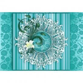 Fototapeta na stenu - FT3455 - Tyrkysový ornament