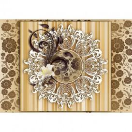 Fototapeta na stenu - FT3457 - Hnedý ornament