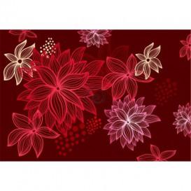 Fototapeta na stenu - FT0196 - Červené kvety