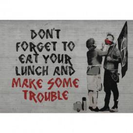 Fototapeta na stenu - FT3491 - Banksy: Nápis