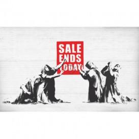 Fototapeta na stenu - FT3492 - Banksy: Nápis