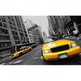 Fototapeta na stenu - FT4081 - Žltý taxík