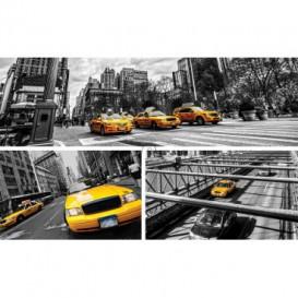 Fototapeta na stenu - FT5417 - Žltý taxík