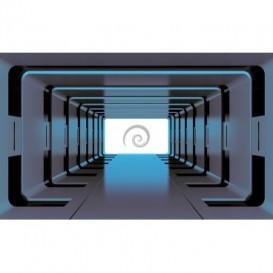 Fototapeta na stenu - FT3288 - 3D tunel – modrý
