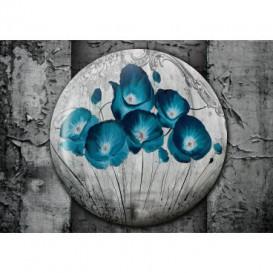 Fototapeta na stenu - FT5425 - Modré kvety