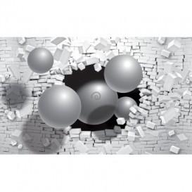 Fototapeta na stenu - FT2475 - 3D - gule zo steny