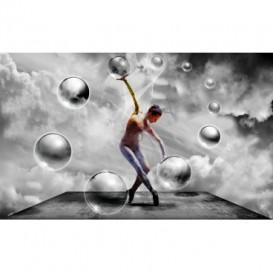 Fototapeta na stenu - FT4765 - 3D gule s baletkou