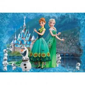 Fototapeta na stenu - FT4778 - Ľadové kráľovstve - Elsa a Anna