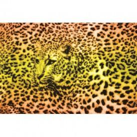 Fototapeta na stenu - FT0166 - Oranžovožltý leopard