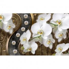 Fototapeta na stenu - FT4787 - Zlatá orchidea